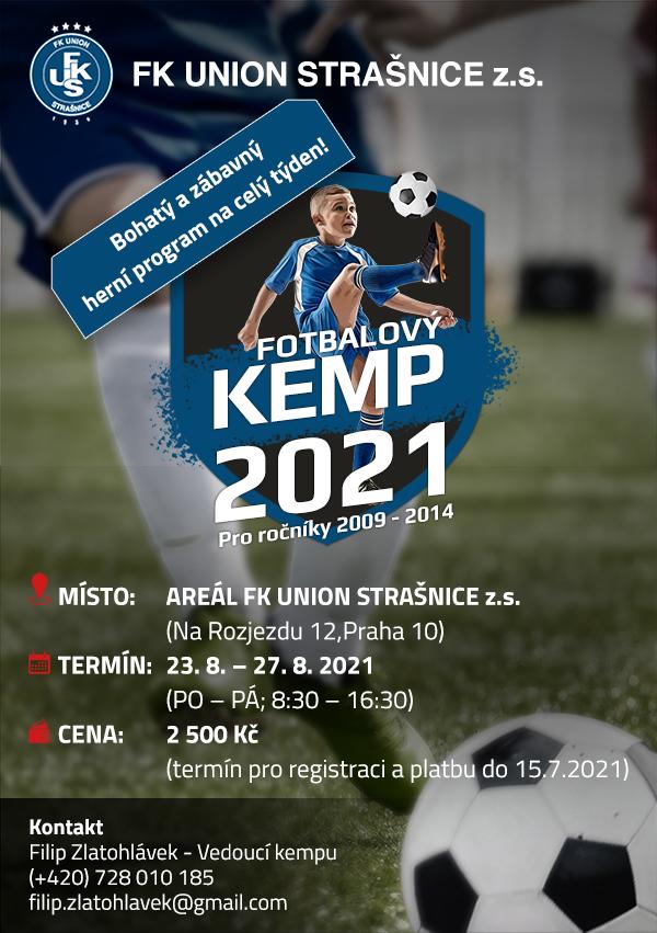 Letní fotbalový kemp 2021!